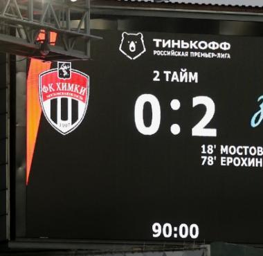 5 главных мыслей после матча «Химки» – «Зенит»